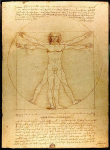 Vitruve Luc Viatour por da Vinci