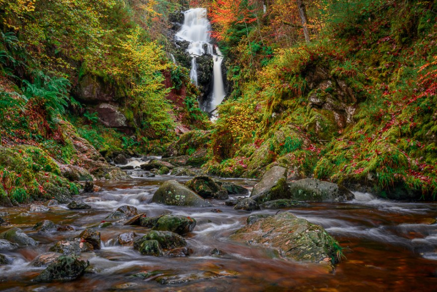 Queen Elizabeth Forest Park Waterfall