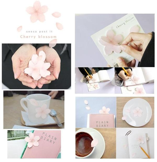 櫻花便條紙123