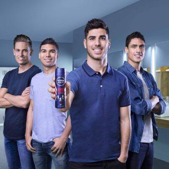 Nivea Men Deo Dry Impact and Real Madrid Cracks