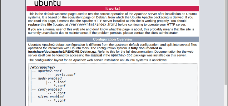 Servidor apache para desarrollar PHP