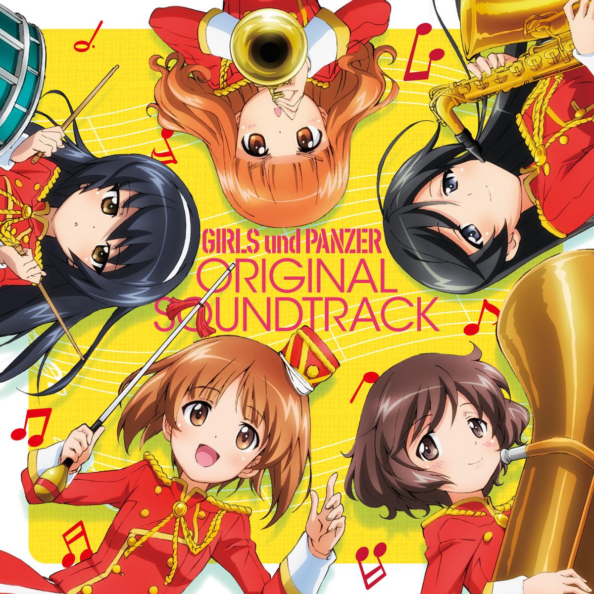 Girls und Panzer Original Soundtrack - Review - Anime Instrumentality
