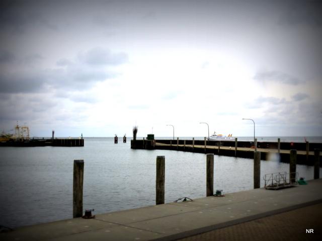 am Hafen von Hörnum