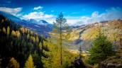 Ausblick in Südtirol nachher