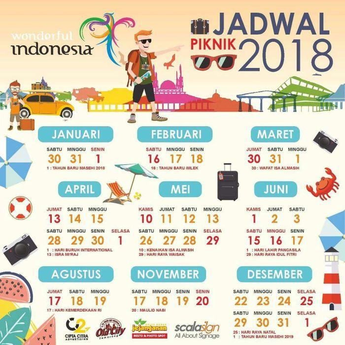 Kalender Libur Tahun 2018