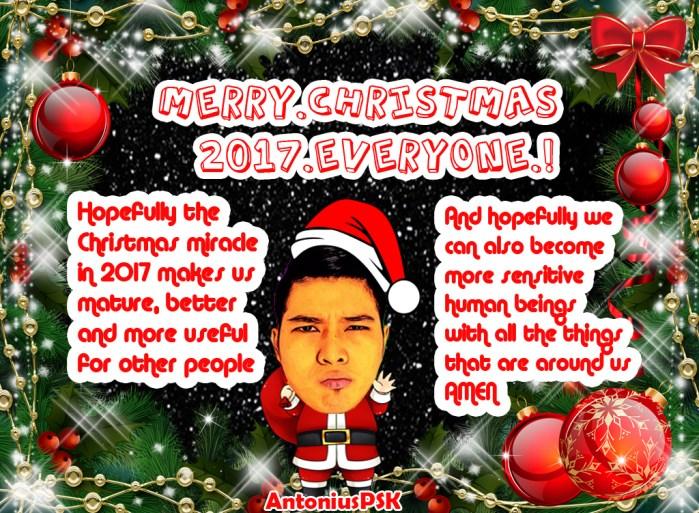 Selamat Natal 2017 - AntoniusPSK