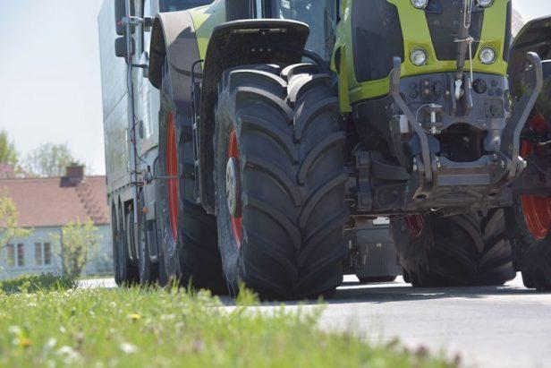 Testare anvelope agroindustriale Vredestein Traxion+