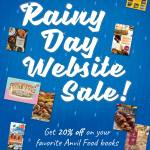 BOOK SALE: Anvil Rainy Day Website Sale