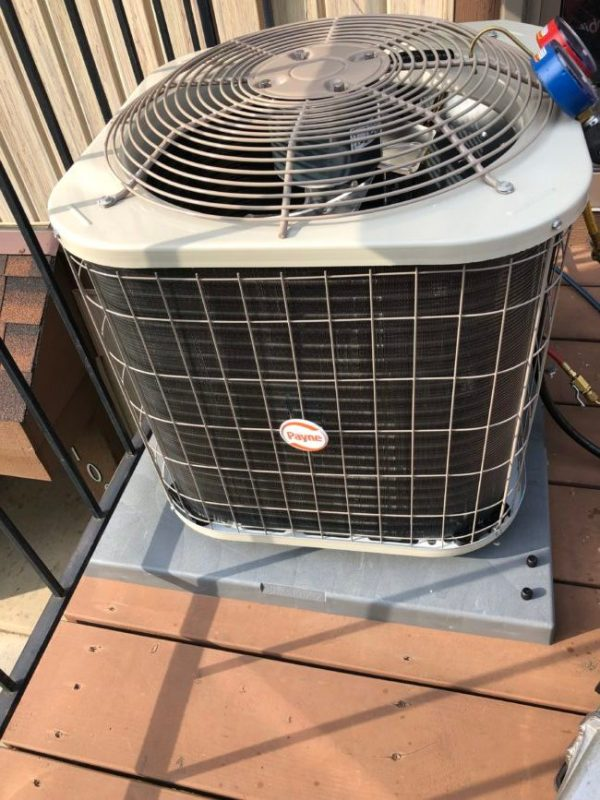 Installing New Carrier Air Handler & AC Unit in Niles IL - May 19th 2019