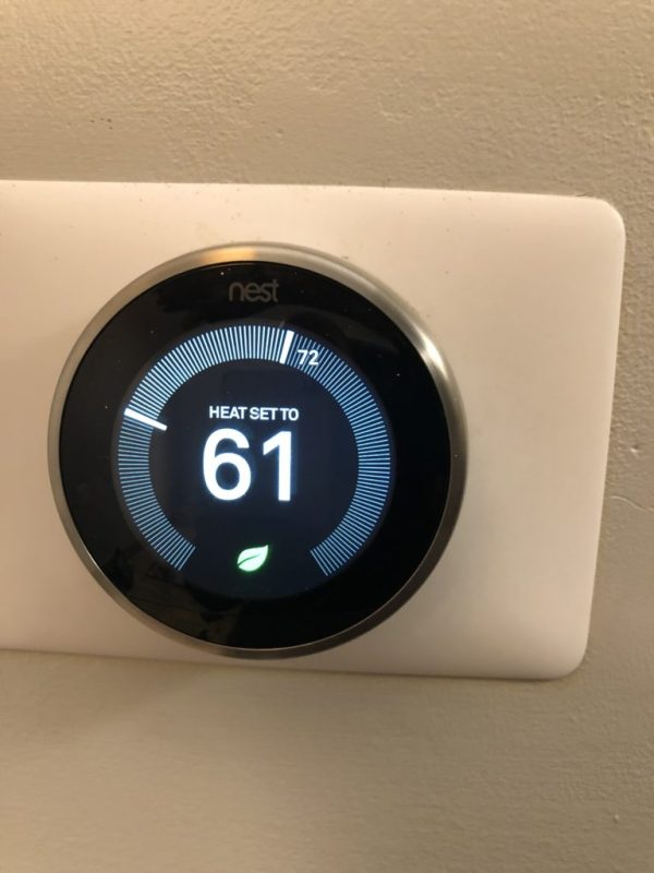 Smart WI-FI Nest Thermostat Installation Mount Prospect IL