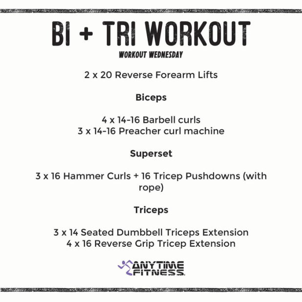 15 Minute Bicep And Tricep Strength Workout