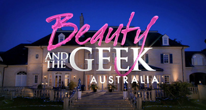 Beauty and The Geek Train on AOK Balls
