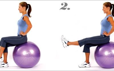 mediBall Exercises – Single Leg Lift