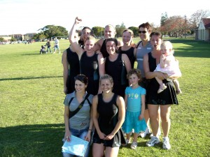 AOK's Newcastle Champioship Team
