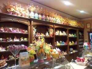 Interior de Pastelería Mil Hojas