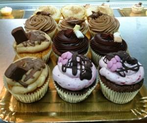 Variado de Cupcakes de Los Macarons