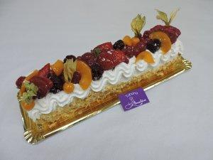 Brazo de Nata y Frutas