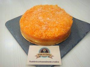 Tarta zanahoria y coco