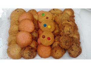 Cookies de diferentes sabores