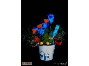 Champanera y Flores
