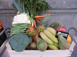 Caja de Frutas y Verduras