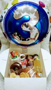 Desayuno Cumpleaños con Globo