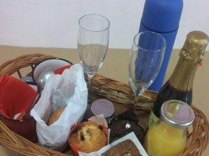 Desayuno Amor para dos personas