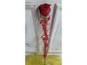 Rosa decorada especial Fantasía