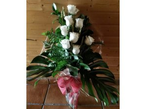 Ramo de 8 Rosas Blancas
