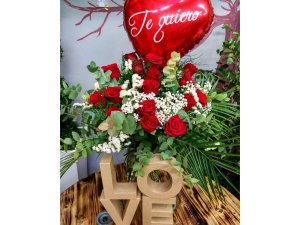 Ramo de Rosas para San Valentín