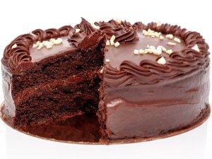 Tarta de Chocolate sin gluten y vegana