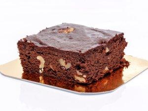 Brownie de Cacao sin gluten y vegano