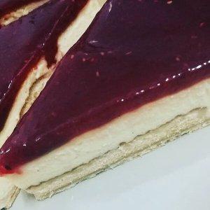 Tarta de Queso y Frambuesa
