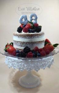 Layer Cake con Frutos Rojos