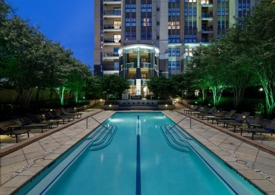 Camden Post Oak Apartments: Pool