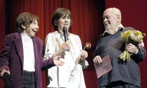Julieta Serrano recibe el Premio especial junto a Jaime Armiñán y Alícia Hermida FOTO: Fotogramas.es