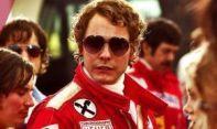 Daniel Brül en su papel de Niki Lauda, en Rush.