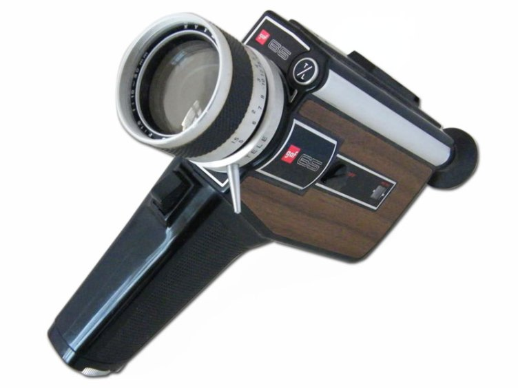 Cine camera and its 3 mins 20 seconds-worth of continuous filming