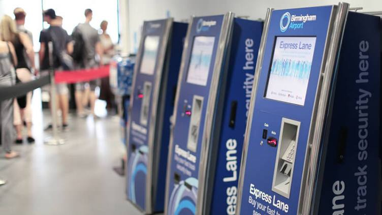 Beat the security queues with The Express Lane at Birmingham Airport
