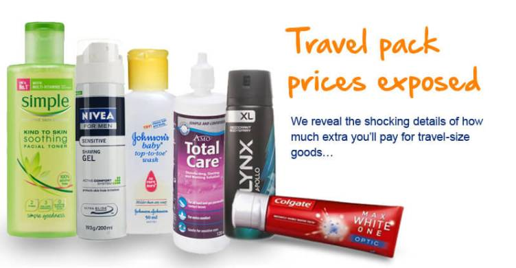 Travel size prices revealed