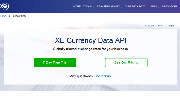 Top Five Free Exchange Rates Api - Circus