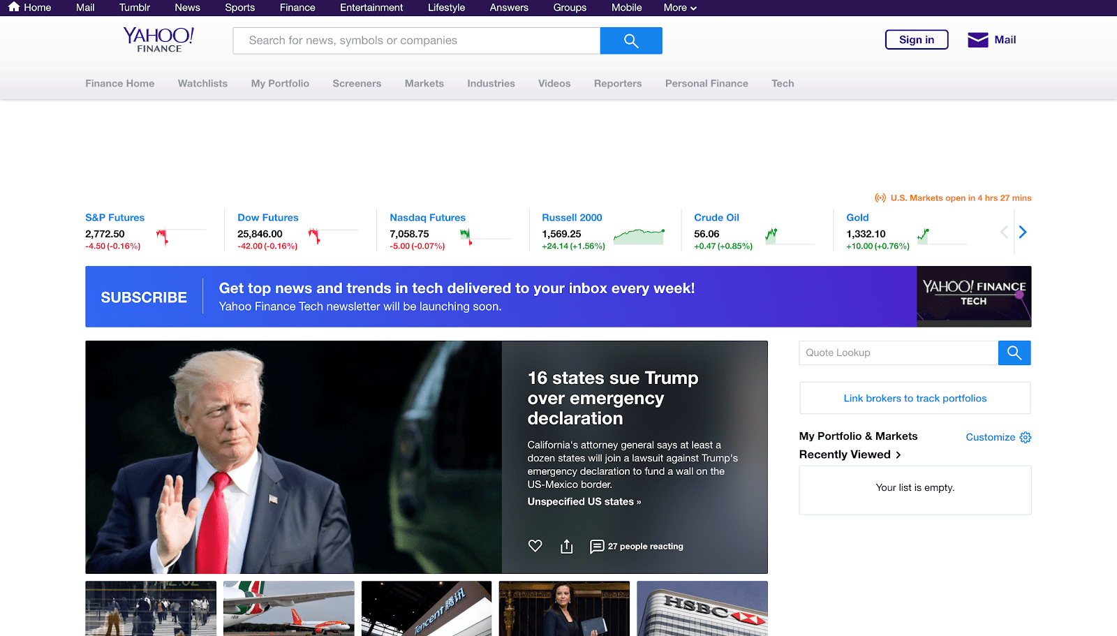 Google Finance API Yahoo Finance Coinbase API