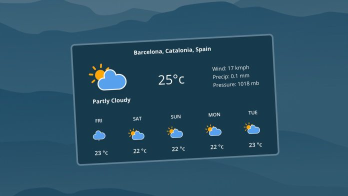 Quickly Add Real-Time Weather Info to Your Dashboards