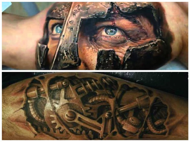 tatuagem masculina tendencia 2018