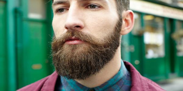 Barba cheia rústica