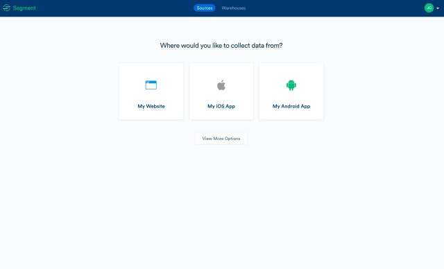 Segment orients new users