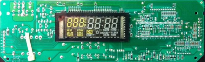 W305 Oven Door Y Parts Diagram