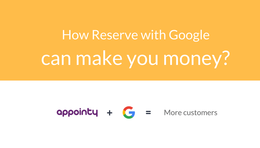 Appointy + Reserve with Google = More Customers