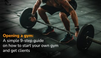 Opening a gym