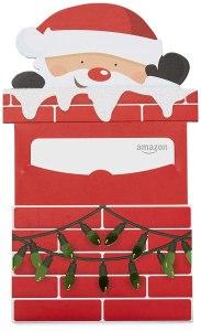 Amazon's Christmas themed gift card